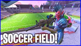 New Thermal Scope on the Soccer Field!