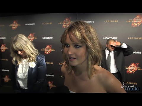 Jennifer Lawrence, Sam Claflin Interviews: Catching Fire at Cannes - Liam Hemsworth