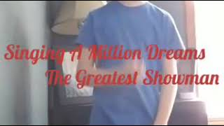 A Million Dreams (Cover) The Greatest Showman - Brenden #11yrsold