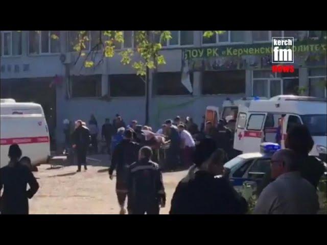 Crimea college shooting kills at least 18
