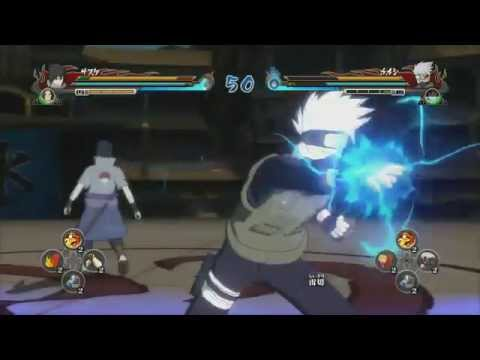 Naruto Shippuden Ninja Storm Revolution - Gameplay (ps3) video