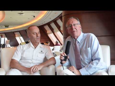 TravelTalk with the hotel manager of the Queen Mary 2