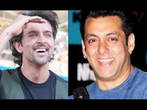 Salman Khan Gets Bang Bang Dare from Hrithik Roshan   Hot Bollywood...