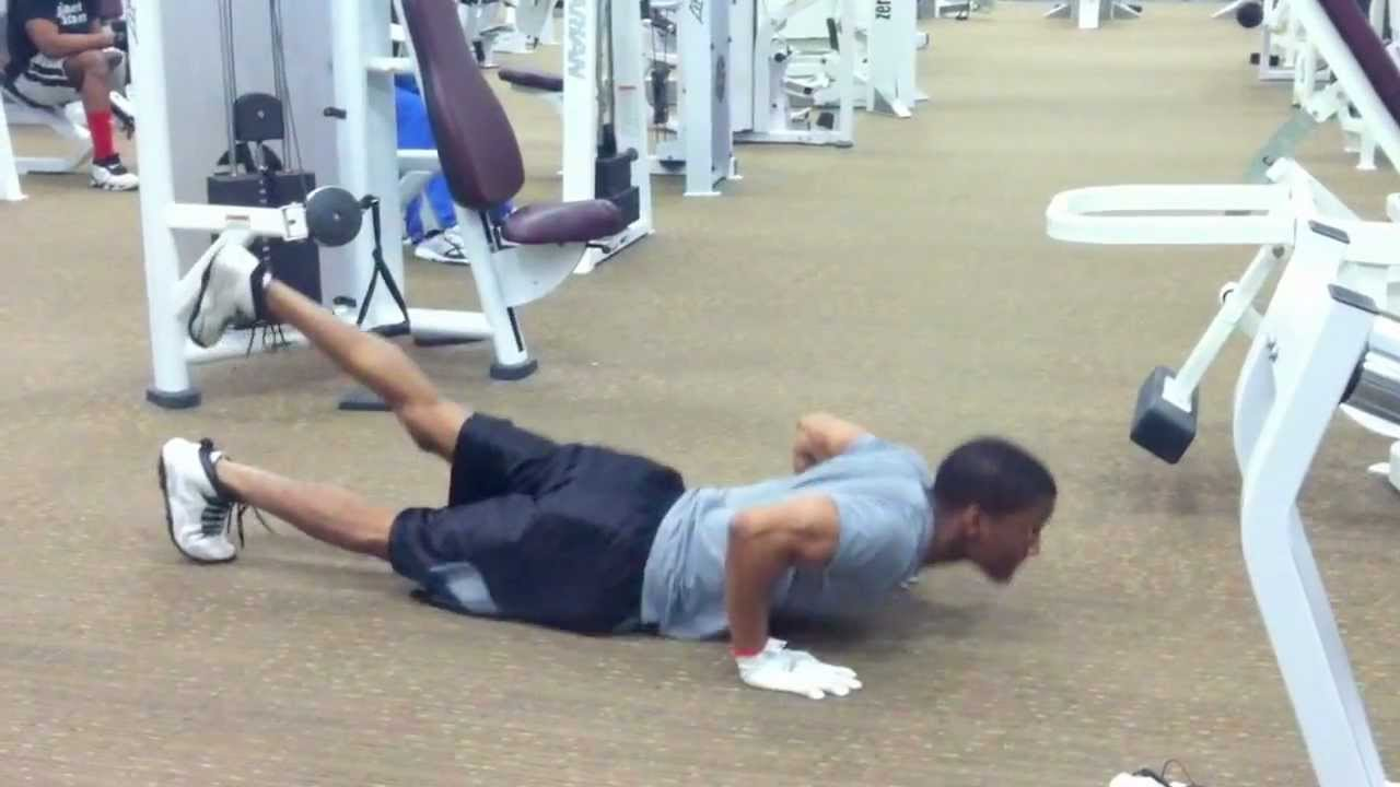Elevated Legs Elevated Leg Clap Push-ups