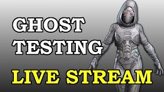 Ghost Testing LIVE   Marvel Contest of Champions Live Stream