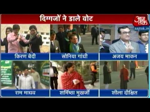 Delhi elections: Brisk voting in early hours