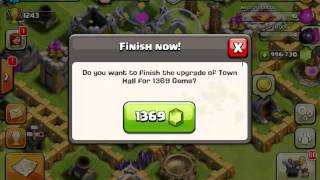 1000000 gems in clash of clans