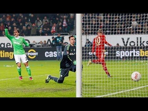 FC Bayern Munchen vs Wolfsburg (6-1) Bundesliga 2013 All Goals & Highlights (HQ) - YouTube