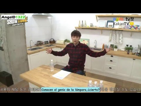 [Sub Español]  INFINITE Showtime - My Little Television Sunggyu 1/3