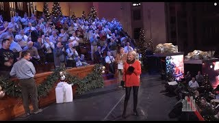 Backstage: Kristin Chenoweth Quickly Overcomes Her Fear of the Conference Center