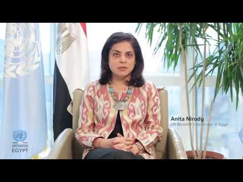 Message on UN Day 2014, UN Resident Coordinator in Egypt Ms. Anita Nirody