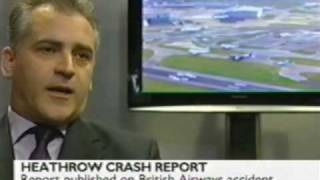 Heathrow Airport Crash investigation - Pilot talks - his action on the FLAPS saved hundreds of lives
