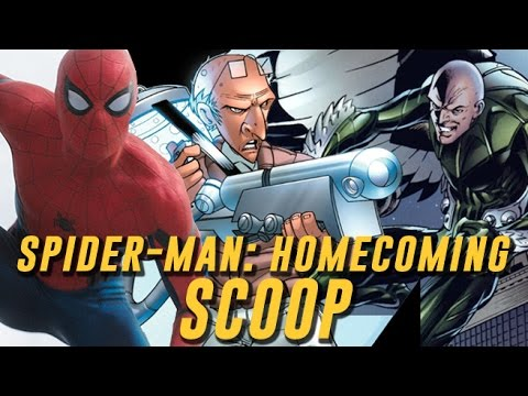 Exclusive Scoop: SPIDER-MAN: HOMECOMING Villains and Costumes