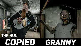Exact Copy Of Granny. Biggest Granny Rip OFF. The NUN, Android Horror Game