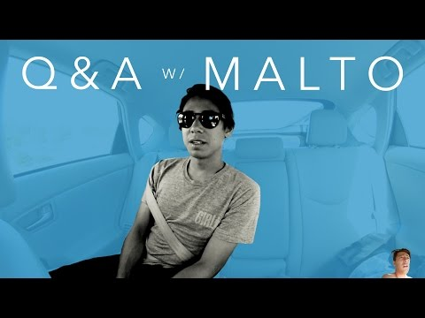 Sean Malto Q and A by Eric Bork while Mikey Taylor Drives
