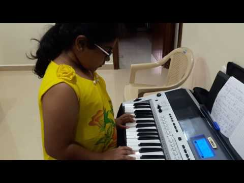 SUTTUM VIZHI SUDARE on keyboard with full arrangements