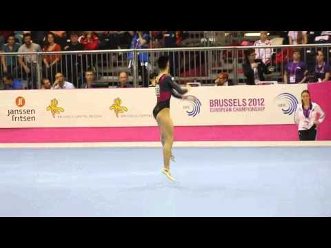 Catalina PONOR ROU, Floor Senior Qualification, European Gymnastics Championships 2012