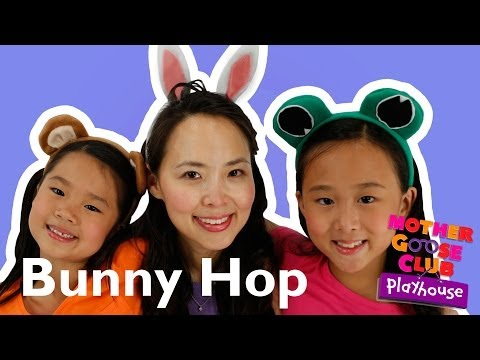 The Bunny Hop - Mother Goose Club Playhouse Kid Video klip izle
