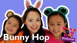 The Bunny Hop | Mother Goose Club Playhouse Kids Video