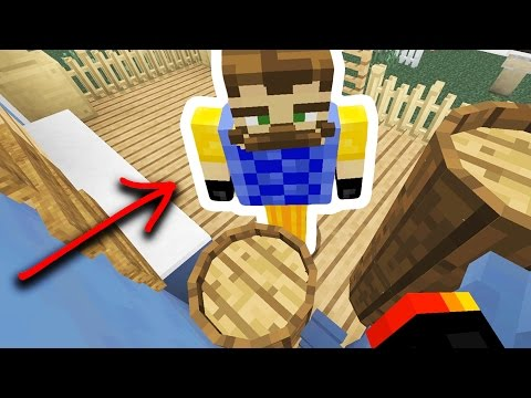 HE STOLE EVERYTHING! | CREEPY NEIGHBOR HIDE N' SEEK! - Minecraft Mods