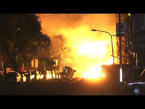 Gas Explosions in Taiwan Caught on Camera