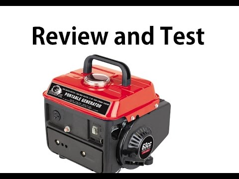 99.99 Generator Harbor freight Review and Test