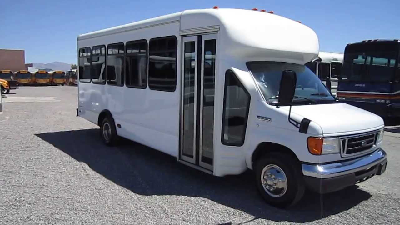 used shuttle bus 2007 ford e450 starcraft with 24 seats and rear door s47647 youtube. Black Bedroom Furniture Sets. Home Design Ideas