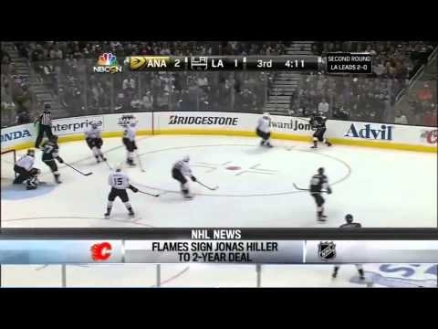 Jonas Hiller signs with the Calgary Flames (Breakdown)