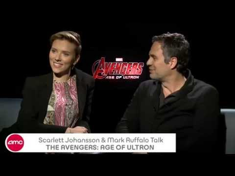 Scarlett Johansson & Mark Ruffalo Chat THE AVENGERS: AGE OF ULTRON