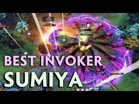 Even pros SCARED of his INVOKER — Sumiya BACK to main account