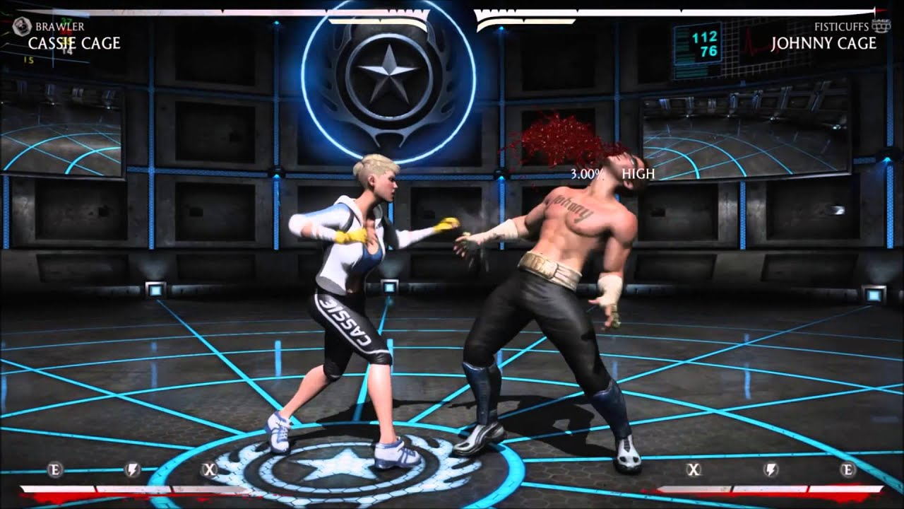 Cassie Cage Brawler Combos Brawler Cassie Cage Combos