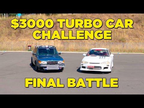 FINAL BATTLE   $3000 Turbo Car Challenge