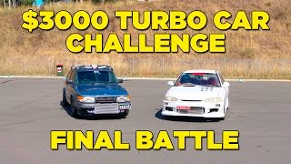 FINAL BATTLE | $3000 Turbo Car Challenge