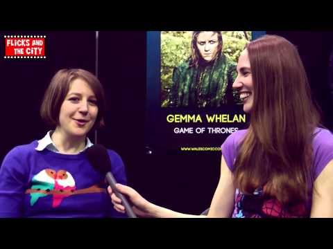 Game of Thrones Season 3 Interview Yara Greyjoy - Gemma Whelan
