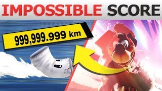 What if you Launch Sandbag Over 999,999km? | Super Smash Bros. Ultimate