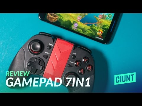 Review: Gamepad Bluetooth 7in1 para Android, iOS y PC