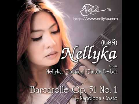 Barcarolle Op.51 No.1 by Napoleon Coste performed by Nellyka (เนลลี)