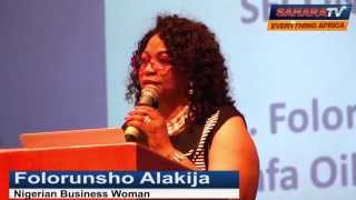 Folorunsho Alakija-$7.3 Billion World's Richest Negress Marries Lawyer-Apllies for Oil Exploration 1