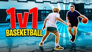 Navy Base 1v1 Basketball VS Navy Sailors!
