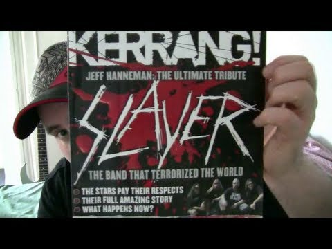 Metal magazine review - metal hammer and kerrang - megadeth and slayer