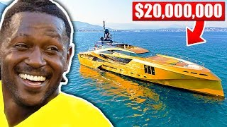 14 Stupidly Expensive Things Antonio Brown Owns