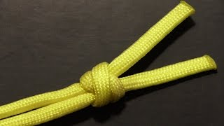 How To Tie A 2 Strand Matthew Walker Knot With Paracord