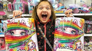 TOY SHOPPING AT TARGET FOR POOPSIE UNICORN SURPRISE, LOL SURPRISE DOLLS, Poopsie Cutie Tooties