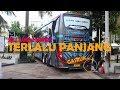 SALUT SAMA CREW | Bawa bus UHD di JALAN SEMPIT