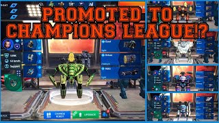 Getting Promoted To Champions League Music Video: War Robots
