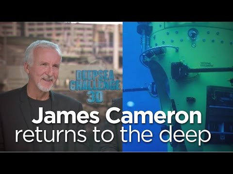 James Cameron builds submarine, makes history