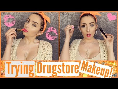 Trying Katy Perry Mascara + NEW Drugstore Makeup ;)