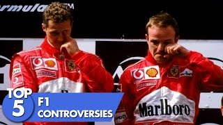 Top 5 F1 Controversies