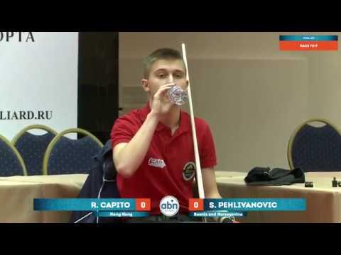 Final Pehlivanovic Sanjin v Capito Robbie James Joaquin World Juniors 9-ball Championship 2017 U17