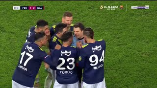 Fenerbahce 1-3 Galatasaray | Super Lig 19/20 Match Highlights